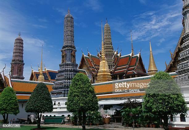 Grand palace in Bangkok Thailand 18th century