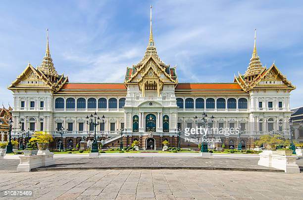 Grand Palace with clear sky in Bangkok Thailand