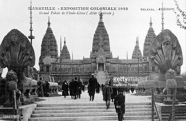 Grand Palais De Of Indochina With The Replica Of Temple Of AngkorVat