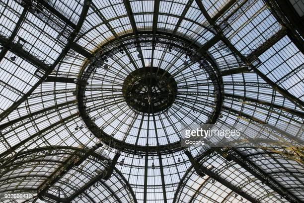 Grand Palais glass dome Paris France