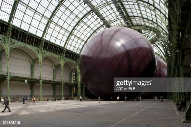 Grand Palais with sculpture by Anish Kapoor