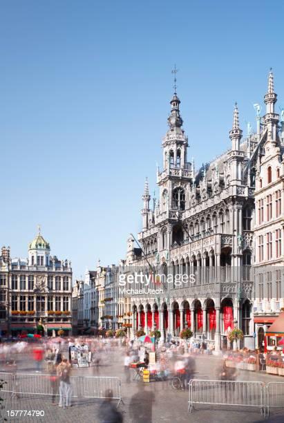 Grand Place und La Maison Du Roi In Brüssel