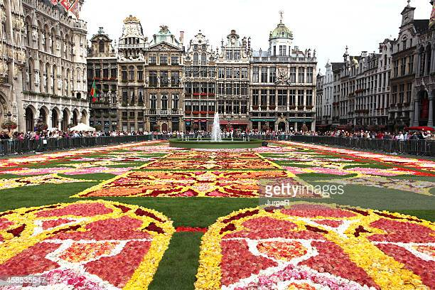 Grand Place Bruselas flor alfombra de 2010
