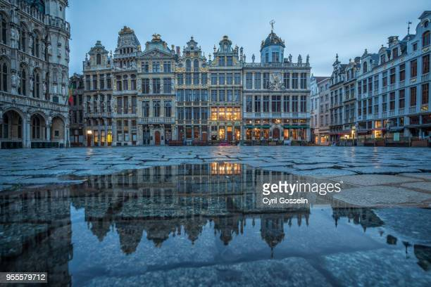 Grand' Place Bruxelles at twilight