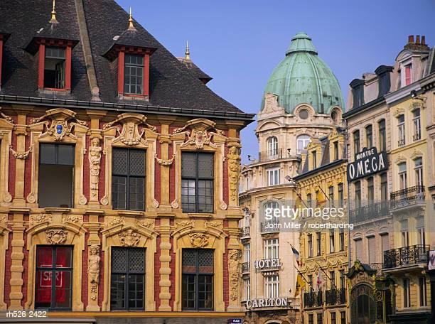 Grand Place, Lille, Nord Pas de Calais, France