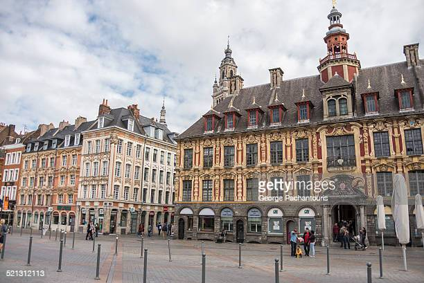 Grand Place or Place du General de Gaulle in Lille