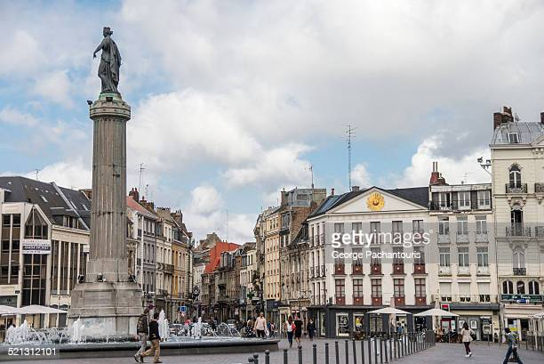 Grand Place or Place du Général de Gaulle in Lille