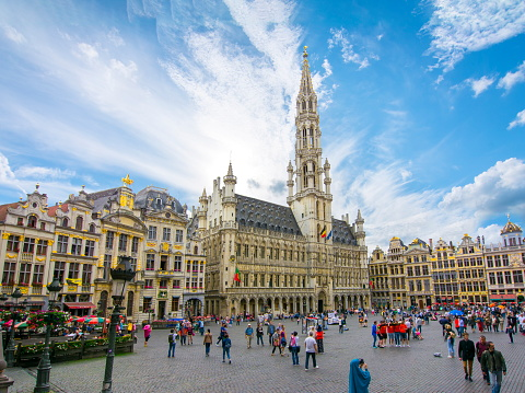 Grand Place square in centre of Brussels, Belgium 1015468242