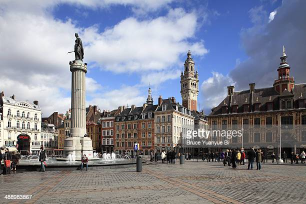 Grand Place with Column of the Goddess