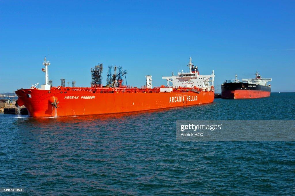 Grand port de Marseille bassin de fos Tankers  News Photo | Getty Images