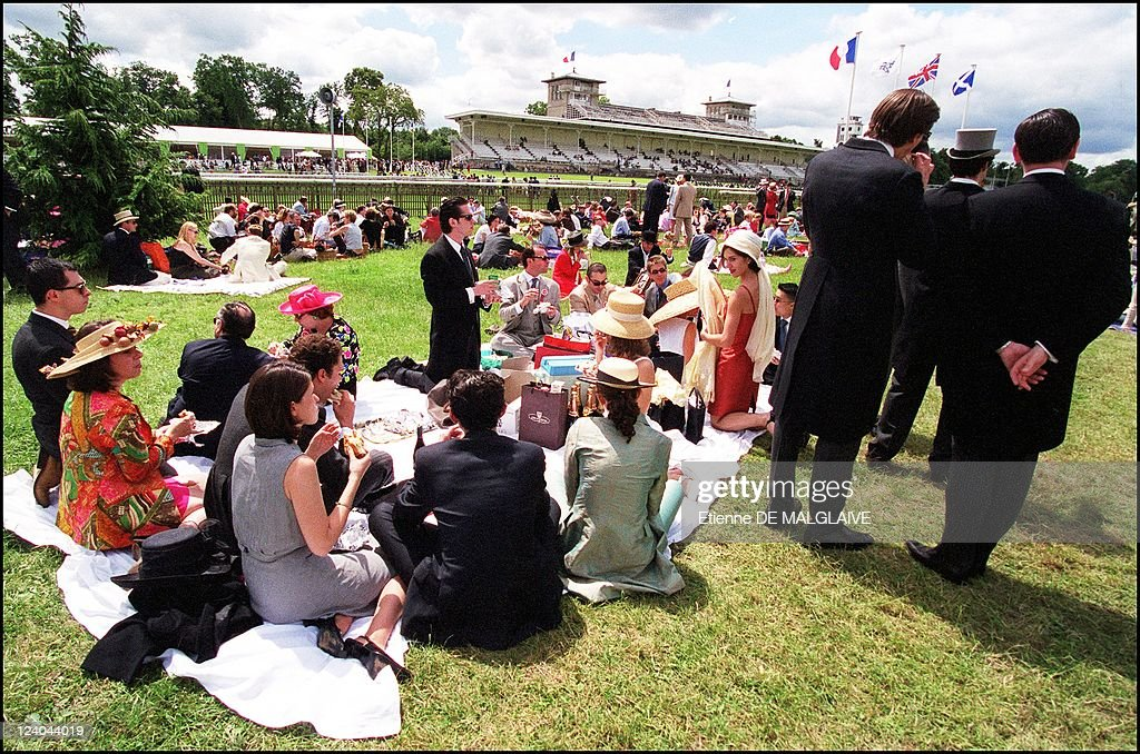 Grand Prix Of Diane In Chantilly, France On June 11, 2000. : News Photo
