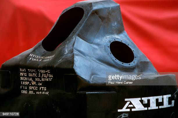 Grand Prix of France Circuit de Nevers MagnyCours 03 July 1994 Fuel cell used in a Formula One car