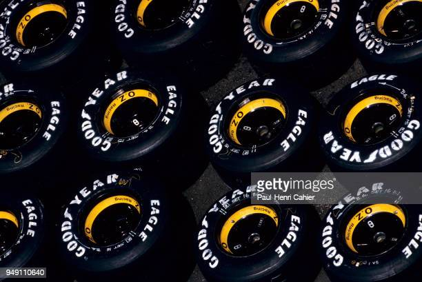 Grand Prix of France Circuit de Nevers MagnyCours 07 July 1991 Goodyear Formula One tyres