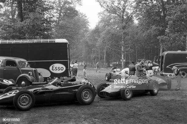 BRM P25 Grand Prix of France RouenLesEssarts 07 July 1957