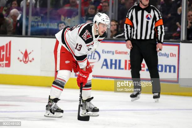Grand Rapids Griffins center Dominic Turgeon on the ice during the third period of the American Hockey League game between the Grand Rapids Griffins...
