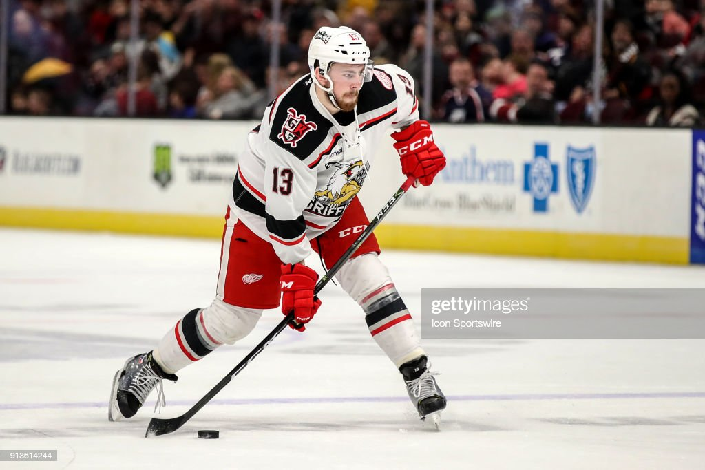 AHL: FEB 02 Grand Rapids Griffins at Cleveland Monsters : News Photo