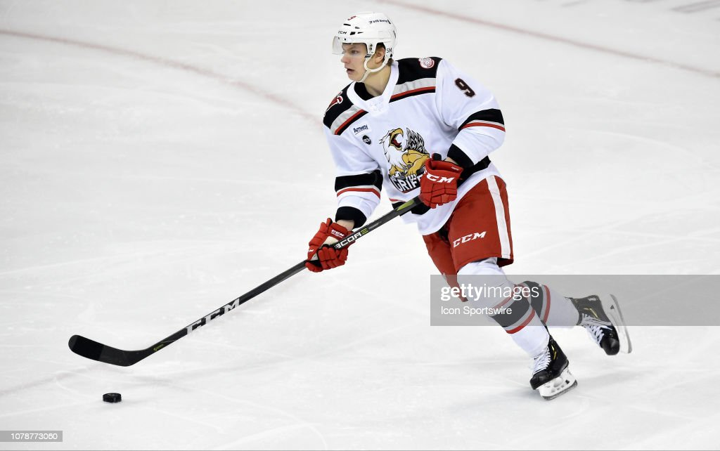 AHL: JAN 05 Grand Rapids Griffins at Hershey Bears : News Photo