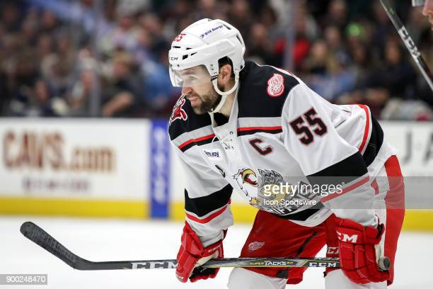 Grand Rapids Griffins right wing Matthew Ford on the ice during the second period of the American Hockey League game between the Grand Rapids...