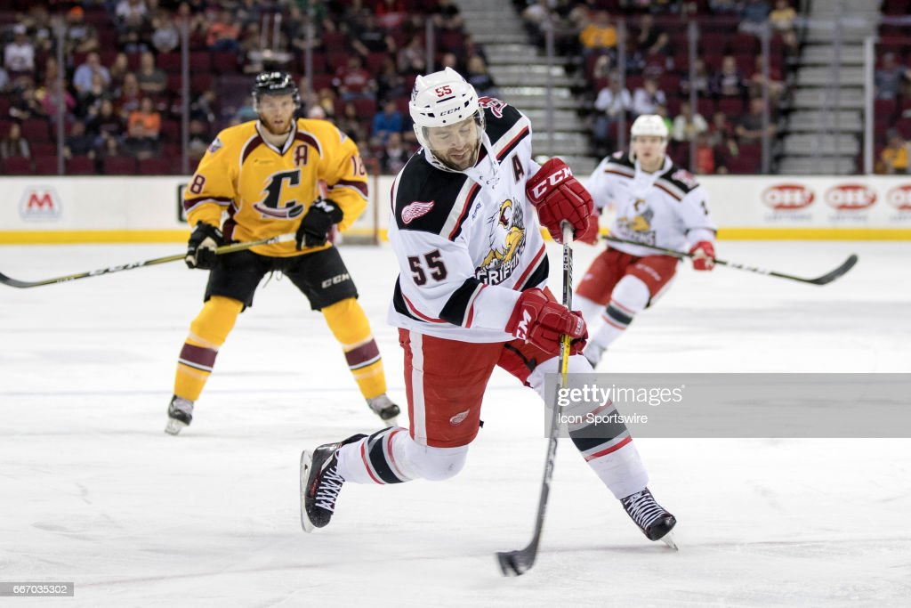 ahl: apr 09 grand rapids griffins at cleveland monsters pictures