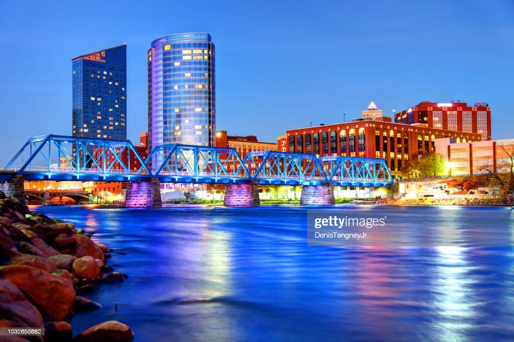 Grand Rapids, Michigan : Stock Photo