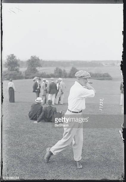 Grand Rapids, Michigan: Western Golf Meet at the Kent County Club Links. Doctor W. D. Mahoney of Chicago.