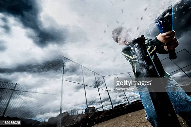 grand slam - sports bat stock pictures, royalty-free photos & images