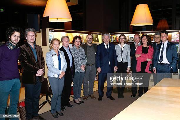 Grand son of Bruno Roger Son of Bruno Roger Fabrice RogerLacan Bernard Kouchner and his wife Christine Ockrent Roselyne Bachelot Narquin Professor of...
