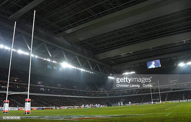 France's during the rugby union test match France vs Argentina at Lille Grand Stade on November 17 2012 in Villeneuve d'Ascq Photo By...