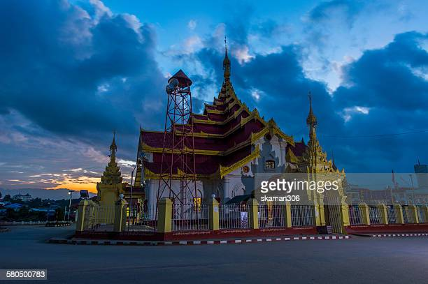 Grand temple at Kengtung Shan state
