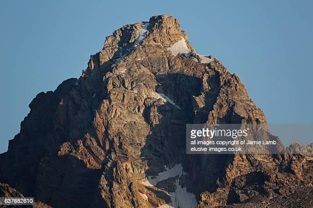 Grand Teton Mountain Peak, Grand Tetons National Park