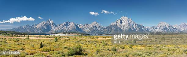 Grand Teton-Gebirge Panorama