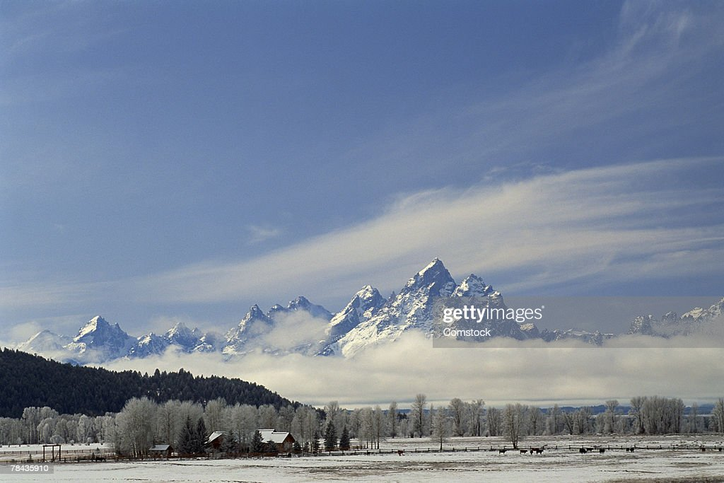 Grand Teton National Park , Wyoming : Stockfoto