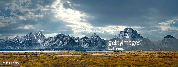 Grand Tetons in Dramatic Light