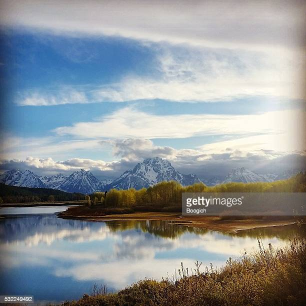 Grand Tetons National Park Nature Landscape in Spring