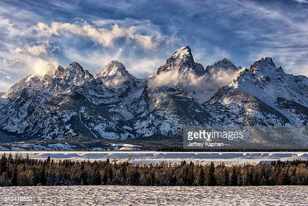 grand tetons - rocky mountains stock pictures, royalty-free photos & images