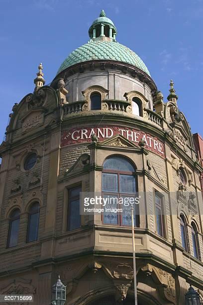 Grand Theatre Blackpool Lancashire Designed by the Victorian theatre architect Frank Matcham Blackpool's Grand Theatre opened in 1894 A public...