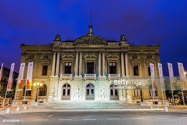 grand theatre de geneve - grand theatre de geneve stock pictures, royalty-free photos & images