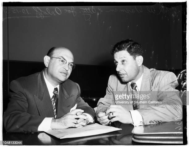 Grand theft 15 October 1951 Al WaxmanAttorney Joe Orloff