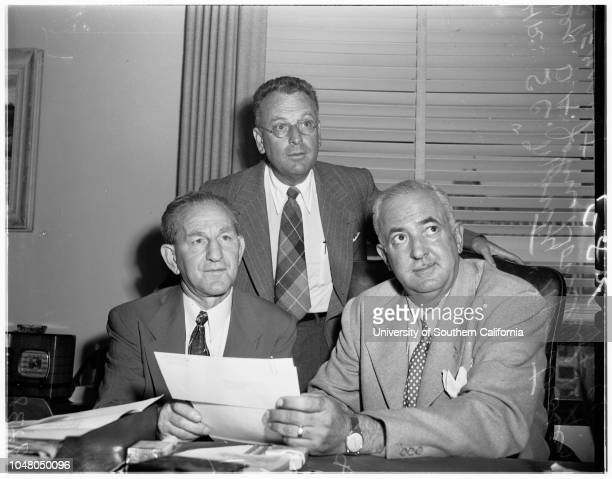 Grand theft 6 August 1951 Al S Waxman SC 'Monty' Montrose Deputy Districk Attorney John LoucksDistrict Attorney S Ernest Roll