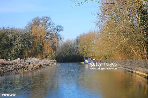 grand union canal | uk - bedfordshire stock photos and pictures
