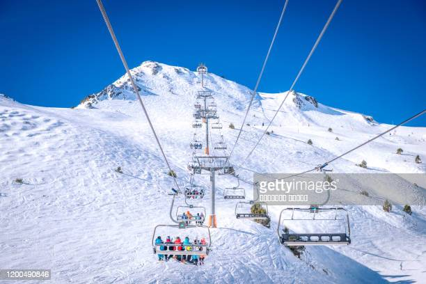 grand valira, pyrenees mountains, andorra - andorra stock pictures, royalty-free photos & images