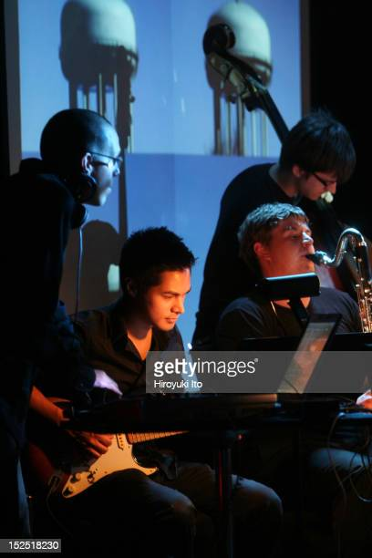Grand Valley State University New Music Ensemble performing Terry Riley's In C Remixed at Le Poisson Rouge on Sunday night November 8 2009This...