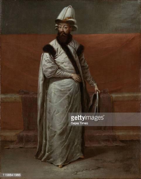 Grand Vizier Nevsehirli Damat Ibrahim Pasa Jean Baptiste Vanmour c 1727 c 1730