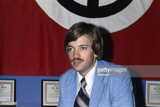 Grand Wizard of the Knights of Ku Klux Klan David Duke shown here in his bookstore