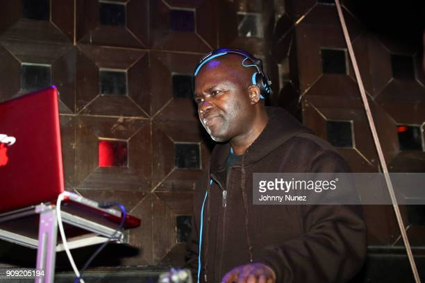 Grand Wizzard Theodore spins at the 2nd Annual Jam Master Jay Celebration Of Life Fundraiser at SOB's on January 22 2018 in New York City