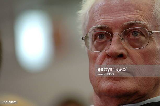 Grand words of the presidentiables of PS in Lens France on September 16 2006 Lionel Jospin