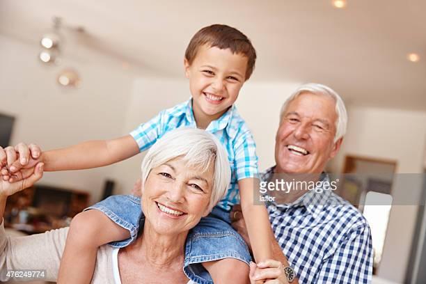 Grandchildren are a blessing!