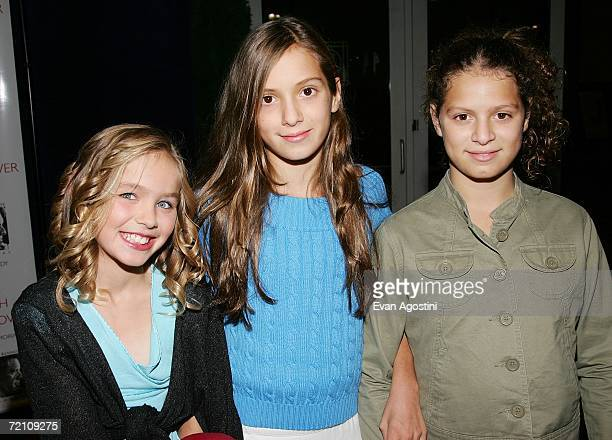 RFK grandchildren Saoirse Kennedy Hill Mariah Kennedy Cuomo and Cara Kennedy Cuomo attend the Speak Truth To Power Memorial Benefit Gala at Pier...