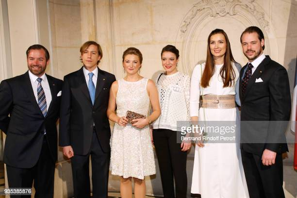 LLAARR GrandDuc Heritier Guillaume of Luxembourg HRH Prince Louis of Luxembourg GrandeDuchesse Heritiere Stephanie of Luxembourg HRH Princess...