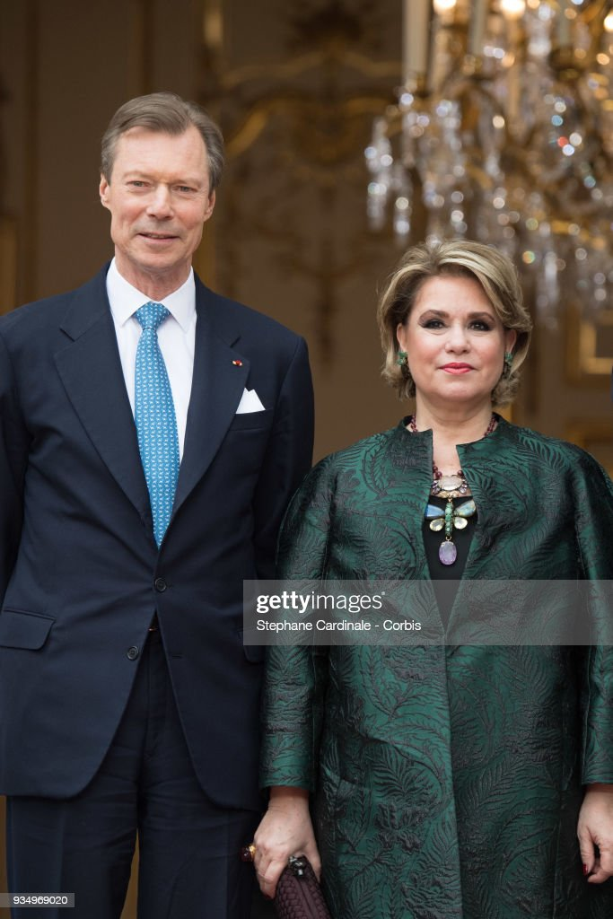 Official Visit of Grand-Duc Henri Of Luxembourg and Grande-Duchesse Maria Teresa Of Luxembourg : Day Three : News Photo